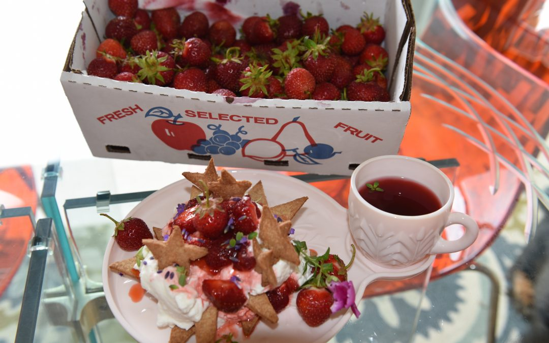 Strawberries, Tea or Me?