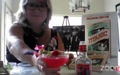 """Raising A """"Clover Club"""" Cocktail To Margaret Brown on Her Birthday!"""