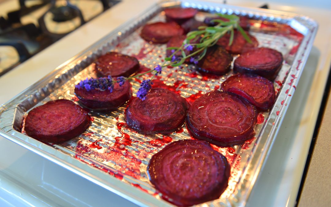 Honey Roasted Beet Sandwich