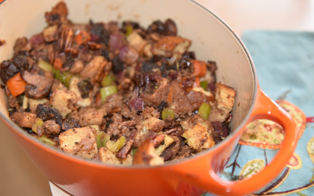 Raisin-Pecan Stuffing
