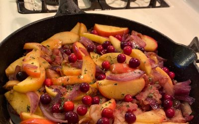 Laura Ingalls Wilder's Fried Apples & Onions