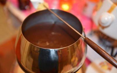 Mexican Hot Chocolate Fondue