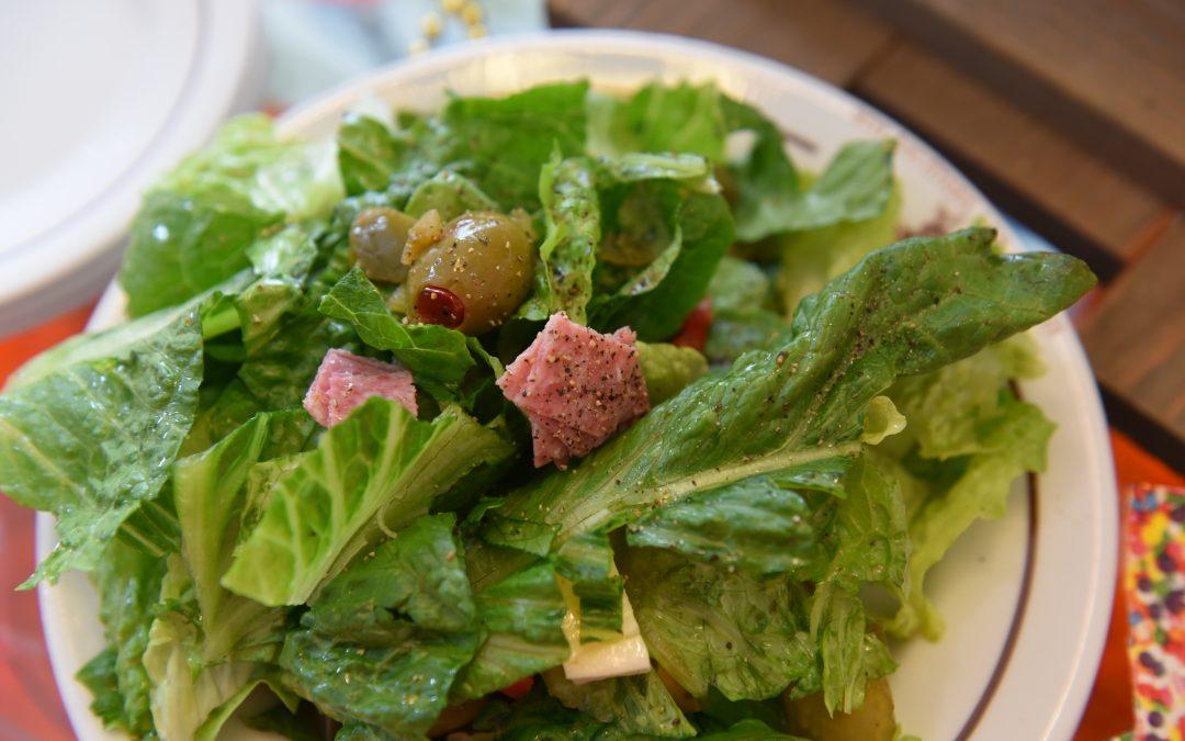 Fat Tuesday Muffuletta Salad