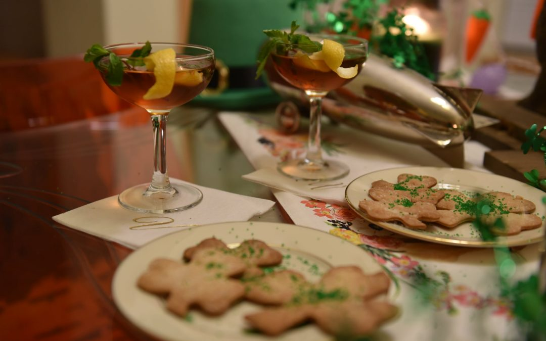 """""""Whiskey and A Cookie!"""" for St. Patrick's Day"""