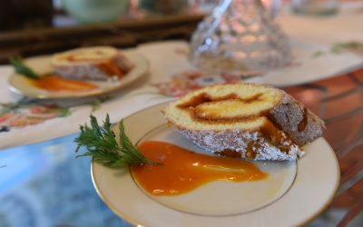 Carrot Jelly Roll for Easter Sunday