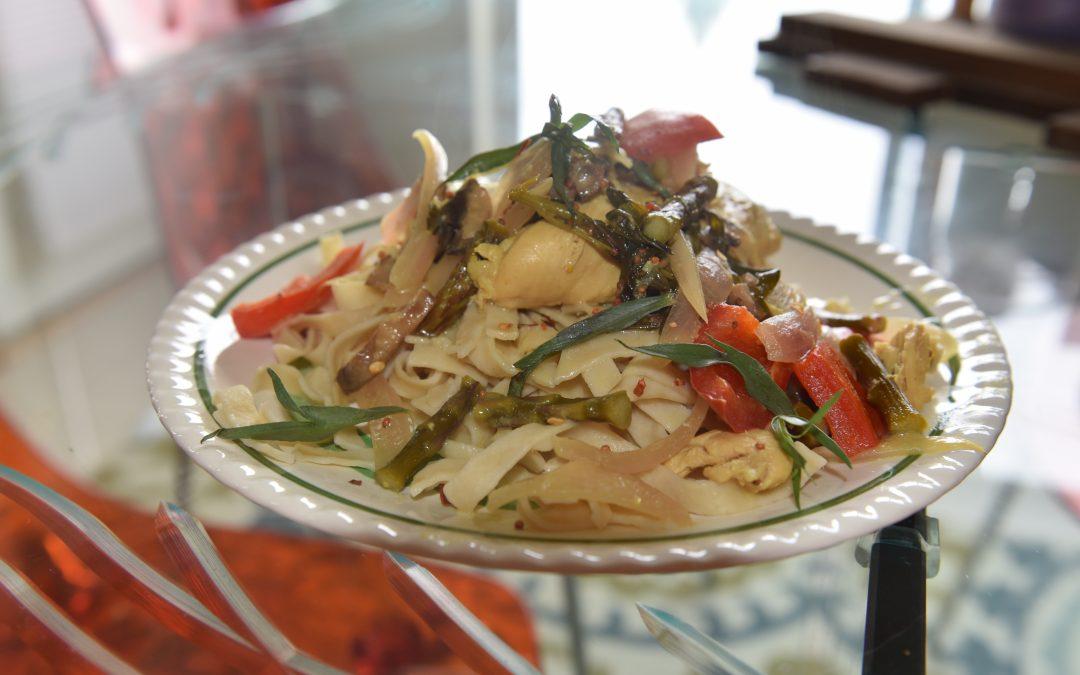 Dijon Coq au Vin with Asparagus
