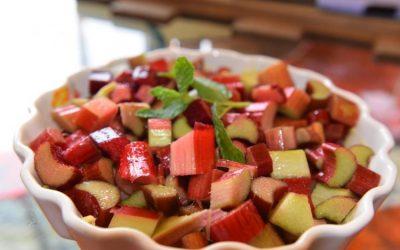 Rhubarb Crisp for Mother's Day Brunch