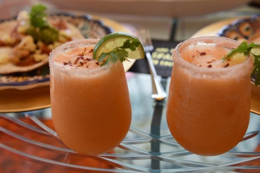 Canteloupe Margaritas